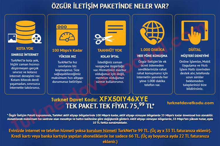 Turknet Davet Kodu 2020